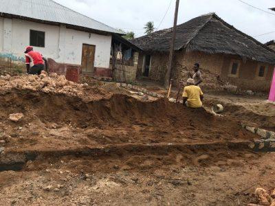 Construction of Madrassatul Ikhlas Commences