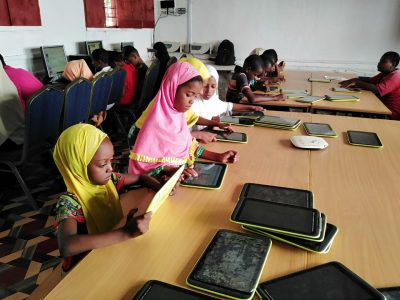 Installation of First Digital Library in Lamu East